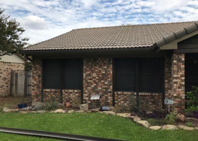 terra cotta roof gutter