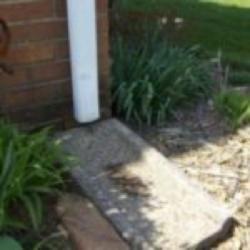 poor gutter installation